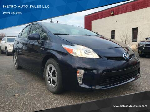 2013 Toyota Prius for sale at METRO AUTO SALES LLC in Blaine MN
