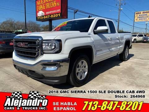 2018 GMC Sierra 1500 for sale at Alejandro Cars & Trucks in Houston TX