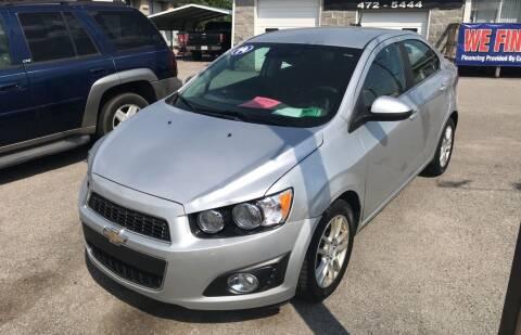 2014 Chevrolet Sonic for sale at RACEN AUTO SALES LLC in Buckhannon WV