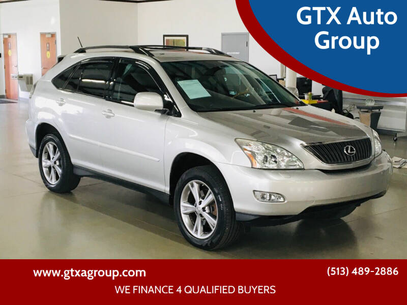 2007 Lexus RX 350 for sale at GTX Auto Group in West Chester OH