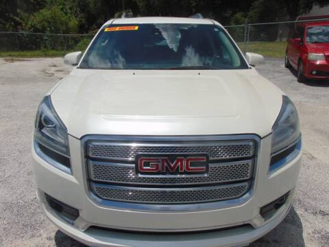 2014 GMC Acadia for sale at Payday Motor Sales in Lakeland FL