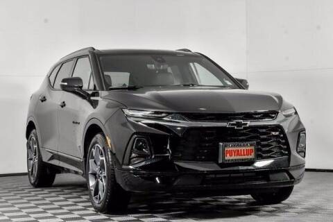 2021 Chevrolet Blazer for sale at Washington Auto Credit in Puyallup WA