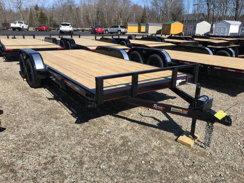 2021 Rettig  18ftFlatbed for sale at Greg's Auto Sales in Searsport ME