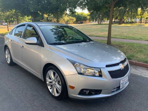 2013 Chevrolet Cruze for sale at River City Auto Sales Inc in West Sacramento CA