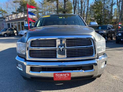 2012 RAM Ram Pickup 2500 for sale at NORM'S USED CARS INC in Wiscasset ME