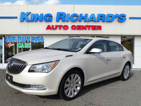 2014 Buick LaCrosse for sale at KING RICHARDS AUTO CENTER in East Providence RI