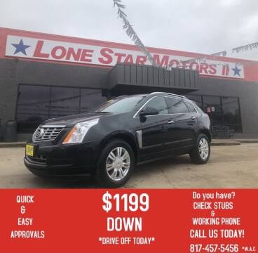 2013 Cadillac SRX for sale at LONE STAR MOTORS II in Fort Worth TX