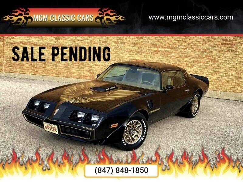 1979 Pontiac Trans Am for sale at MGM CLASSIC CARS in Addison, IL