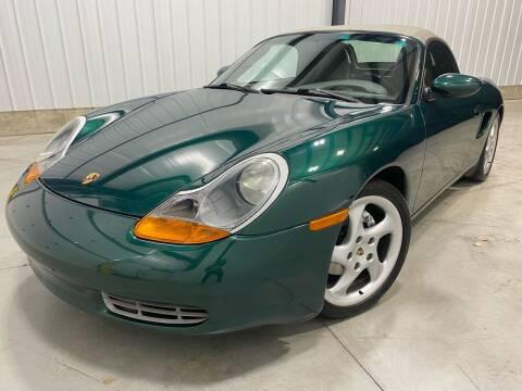 2001 Porsche Boxster for sale at EUROPEAN AUTOHAUS, LLC in Holland MI