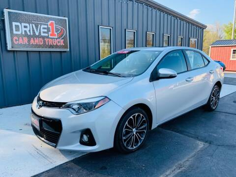 2014 Toyota Corolla for sale at Drive 1 Car & Truck in Springfield OH