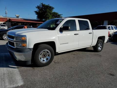2014 Chevrolet Silverado 1500 for sale at L G AUTO SALES in Boynton Beach FL