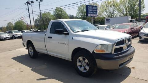 2011 RAM Ram Pickup 1500 for sale at Capital Motors in Raleigh NC