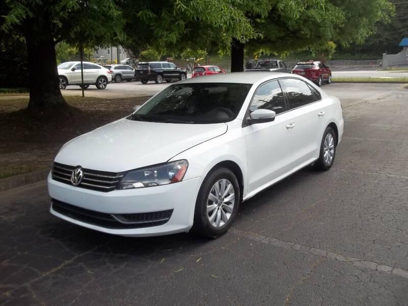 2013 Volkswagen Passat for sale at Key Auto Center in Marietta GA