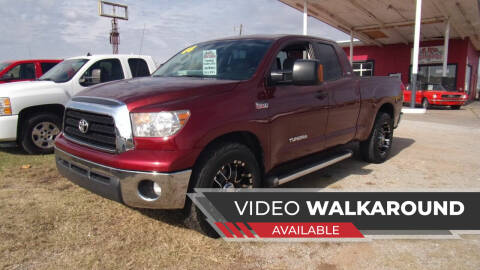 2008 Toyota Tundra for sale at 6 D's Auto Sales MANNFORD in Mannford OK