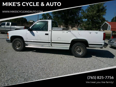 1995 Chevrolet C/K 2500 Series for sale at MIKE'S CYCLE & AUTO in Connersville IN