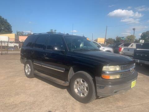 2004 Chevrolet Tahoe for sale at JORGE'S MECHANIC SHOP & AUTO SALES in Houston TX