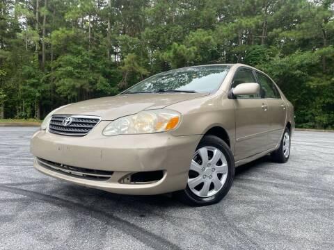 2005 Toyota Corolla for sale at El Camino Auto Sales - Global Imports Auto Sales in Buford GA