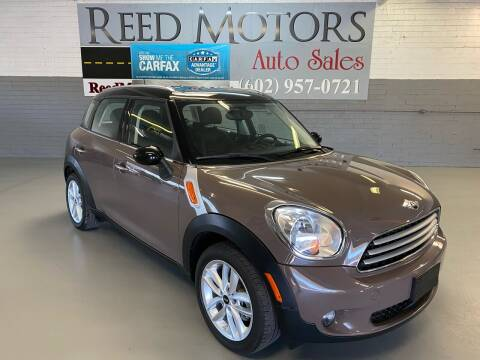 2014 MINI Countryman for sale at REED MOTORS LLC in Phoenix AZ