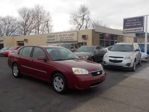 2006 Chevrolet Malibu for sale at Gregory J Auto Sales in Roseville MI