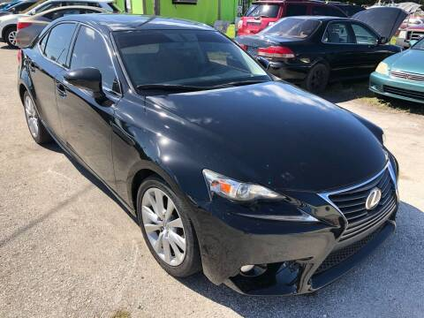 2014 Lexus IS 250 for sale at Marvin Motors in Kissimmee FL