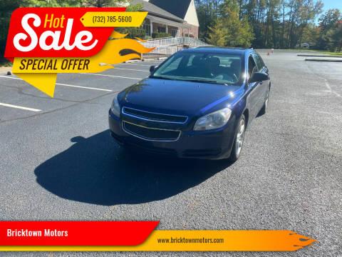 2011 Chevrolet Malibu for sale at Bricktown Motors in Brick NJ