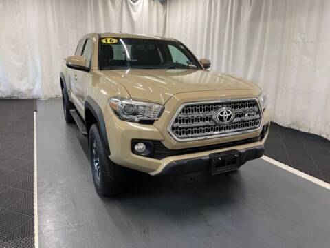 2016 Toyota Tacoma for sale at Monster Motors in Michigan Center MI