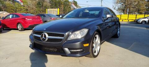 2013 Mercedes-Benz CLS for sale at DADA AUTO INC in Monroe NC