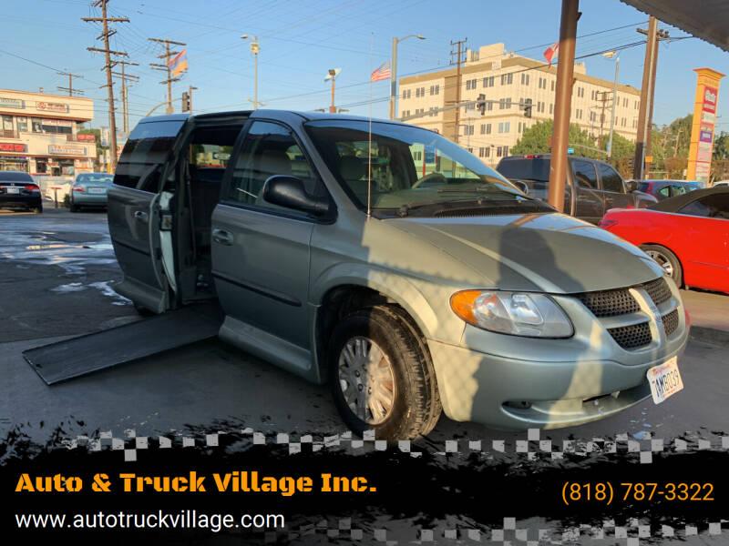 2003 Dodge Grand Caravan for sale at Auto & Truck Village Inc. in Van Nuys CA