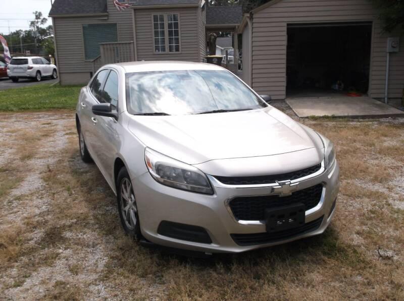 2014 Chevrolet Malibu for sale at Straight Line Motors LLC in Fort Wayne IN