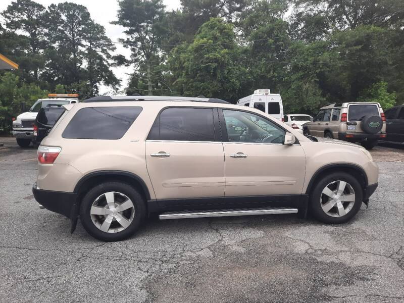 2011 GMC Acadia for sale at PIRATE AUTO SALES in Greenville NC
