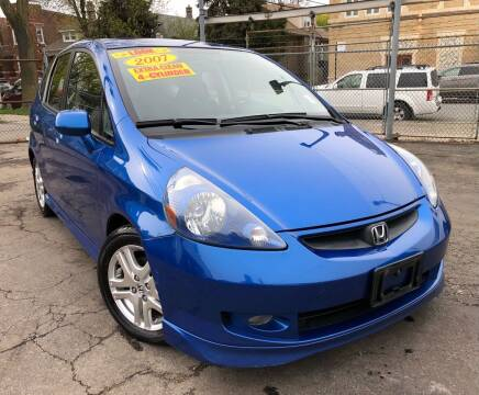 2007 Honda Fit for sale at Jeff Auto Sales INC in Chicago IL