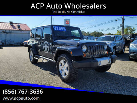 2010 Jeep Wrangler Unlimited for sale at ACP Auto Wholesalers in Berlin NJ