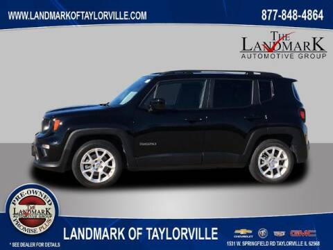 2019 Jeep Renegade for sale at LANDMARK OF TAYLORVILLE in Taylorville IL