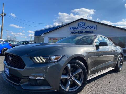 2017 Ford Mustang for sale at Kargar Motors of Manassas in Manassas VA