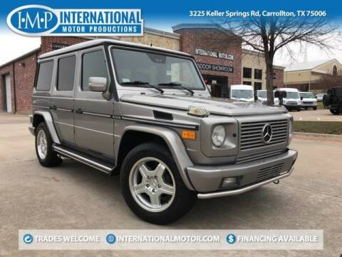 2004 Mercedes-Benz G-Class for sale at International Motor Productions in Carrollton TX