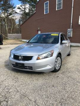 2008 Honda Accord for sale at Hornes Auto Sales LLC in Epping NH