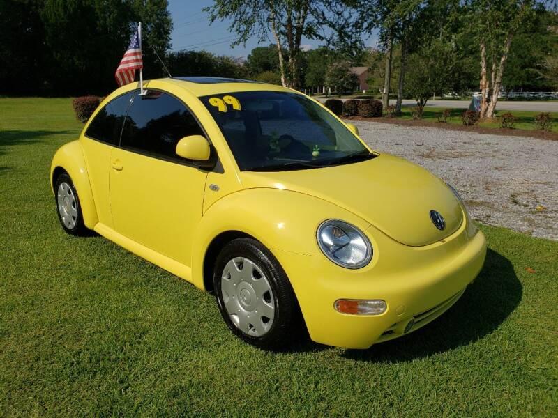 1999 Volkswagen New Beetle for sale at Darwin Harris Automotive in Fairhope AL