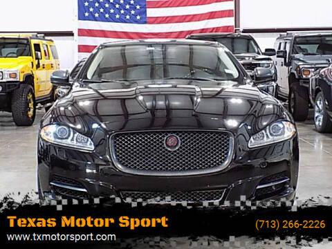 2014 Jaguar XJL for sale at Texas Motor Sport in Houston TX