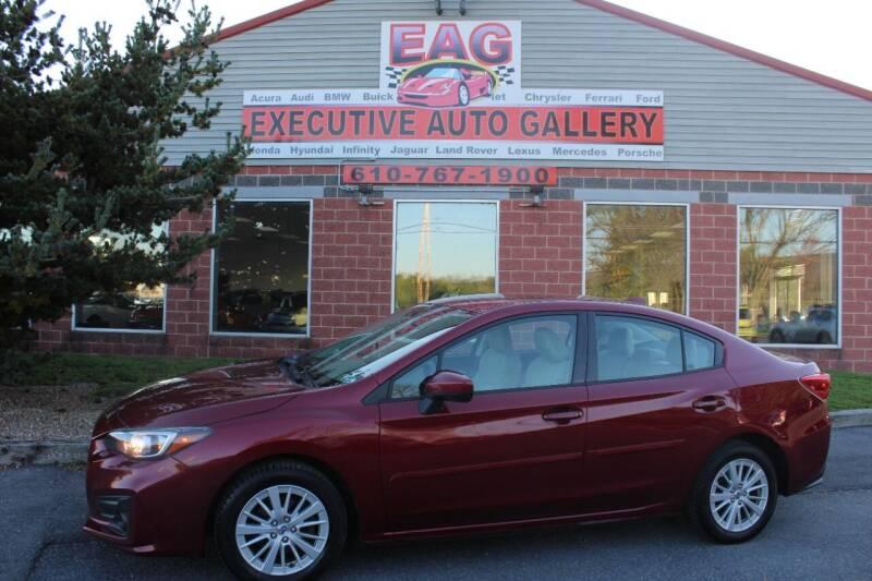 2017 Subaru Impreza for sale at EXECUTIVE AUTO GALLERY INC in Walnutport PA