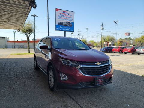 2018 Chevrolet Equinox for sale at Magic Auto Sales in Dallas TX