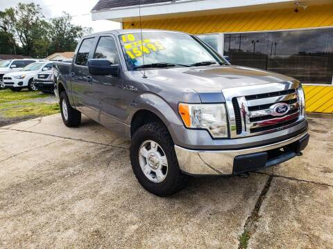 2010 Ford F-150 for sale at THE COLISEUM MOTORS in Pensacola FL