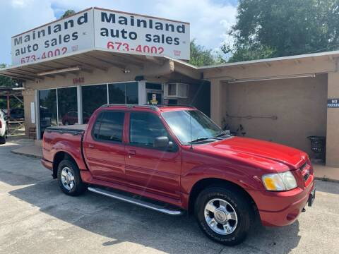 2004 Ford Explorer Sport Trac for sale at Mainland Auto Sales Inc in Daytona Beach FL