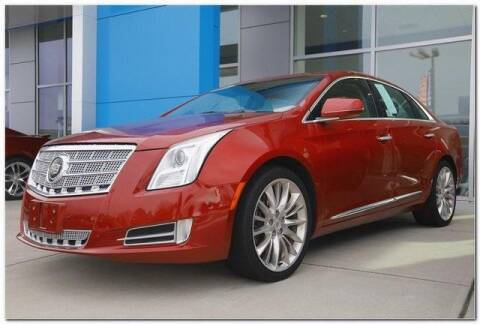 2014 Cadillac XTS for sale at WHITE MOTORS INC in Roanoke Rapids NC