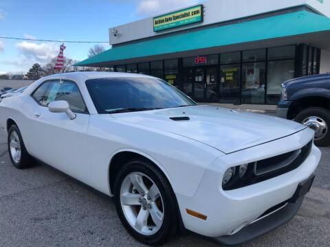2014 Dodge Challenger for sale at Action Auto Specialist in Norfolk VA