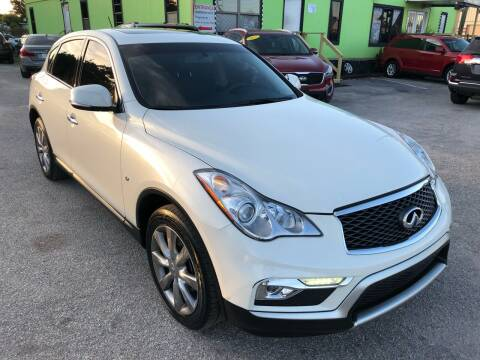 2017 Infiniti QX50 for sale at Marvin Motors in Kissimmee FL