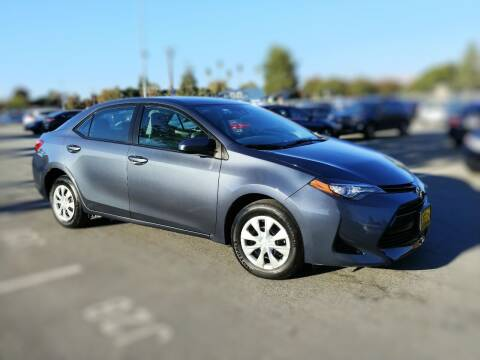 2017 Toyota Corolla for sale at ALL CREDIT AUTO SALES in San Jose CA