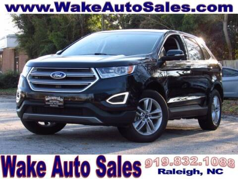 2017 Ford Edge for sale at Wake Auto Sales Inc in Raleigh NC