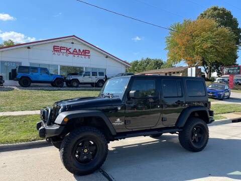 2013 Jeep Wrangler Unlimited for sale at Efkamp Auto Sales LLC in Des Moines IA