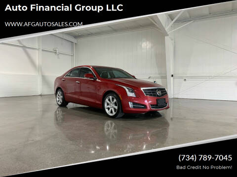 2013 Cadillac ATS for sale at Auto Financial Group LLC in Flat Rock MI