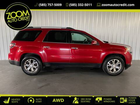 2014 GMC Acadia for sale at ZoomAutoCredit.com in Elba NY